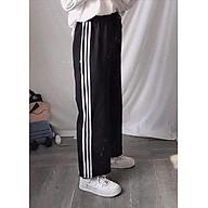 quần 3 sọc ống rộng quần culottes 3 sọc thumbnail
