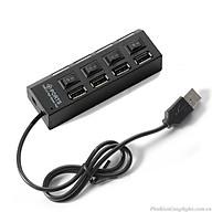 Thiết bị chia cổng USB 4 cổng có công tắc - HÀNG CHÍNH HÃNG thumbnail