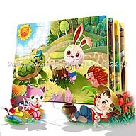 CHỌN MẪU- Ghép hình Puzzle 60 mảnh bảng gỗ nhiều mẫu siêu đẹp - Link 1 thumbnail