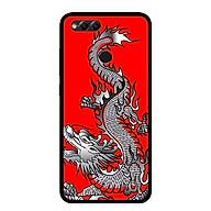 Ốp lưng cho điện thoại Huawei Honor 7X - 0295 DRAGON03 - Viền TPU dẻo - Hàng Chính Hãng thumbnail