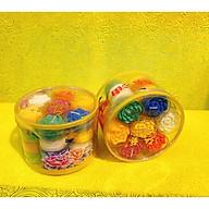 Combo 2 hộp nến hình hoa sen 7 màu, nguyên liệu bơ thực vật cao cấp, mỗi hộp 28v, mỗi viên cháy khoảng 4 tiếng, nến cháy không muội, không khói, an toàn thumbnail