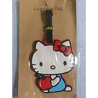 Thẻ hành lý, thẻ treo tên vali mèo kity thumbnail