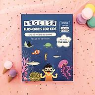 Bộ Thẻ Học (Flashcard) Thông Minh Song Ngữ Tiếng Anh Phiên Âm chuẩn CAMBRIDGE - Chủ đề Thế Giới Đại Dương (3 - 10 tuổi) thumbnail