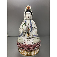 Tượng Phật Quan Âm Bồ Tát Bằng gốm sứ cao cấp (nhiều kích cỡ) thumbnail