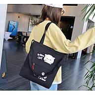 Túi xách tote vải Túi Tote Túi Vải Nữ Túi Đeo Chéo Hàn Quốc thumbnail