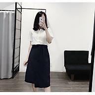 Chân váy công sở 2 tà cục xinh GD8267A thumbnail