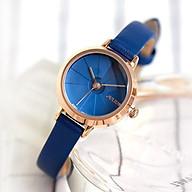 Đồng hồ nữ Julius Hàn Quốc JA-979D Julius Hàn Quốc dây da (Xanh) thumbnail