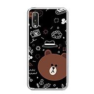 Ốp lưng dẻo cho điện thoại Vsmart Star - 0156 BROWN05 - Hàng Chính Hãng thumbnail
