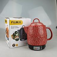 Siêu sắc thuốc điện tự động ngắt Fujika 3Lit màu đỏ, hoa văn ngẫu nhiên-Hàng chính hãng thumbnail