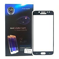 Kính Cường Lực 5D Full Màn Hình Dành Cho Samsung Galaxy J7 Plus - Màu Đen thumbnail