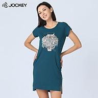 Đầm Nữ Jockey Dáng Ôm Thun Cotton Bamboo - JULB0429 thumbnail