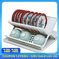 Kệ Chén Nhựa Lớn Tashuan TS-3222A - Hàng Chính Hãng thumbnail