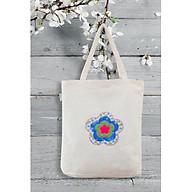 Túi Vải Túi Tote Nữ Chất Vải Canvas hoa thêu thumbnail