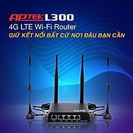 Thiết bị phát sóng WIFI 4G APTek L300 - Hàng chính hãng thumbnail