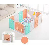 [Tặng thảm xốp hai mặt & bóng nhựa] Quây cũi nhựa nguyên sinh gấp gọn chiều cao 65cm an toàn cho bé, tiện lợi cho gia đình thumbnail