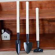 Bộ dụng cụ trồng cây cảnh mini gồm 3 món cuốc, xẻng, thuổng thumbnail