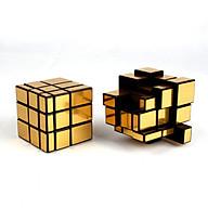 Đồ chơi ảo thuật Rubik phản chiếu ánh vàng 3x3 thumbnail