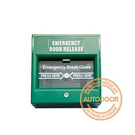 Nút khẩn cẩp Emergency Breakglass màu xanh lá cây thumbnail