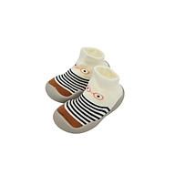Giày bún tập đi dạng tất cao cổ đế cao su chống trượt cho bé trai và gái - phong cách Hàn Quốc Comfybaby GB002 thumbnail