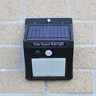 Đèn led năng lượng mặt trời MIN-30 (30 led), MIN-20 (20 led), Pin li-ion, cảm biến bật tắt, Đèn sân thượng, ban công, lan can thumbnail
