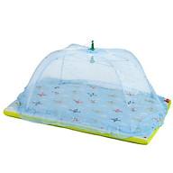 Màn( Mùng) chụp cao cấp chống các loại muỗi và côn trùng cho bé, khung inox, gập gọn tiện dụng thumbnail