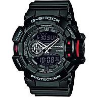 Casio Men s G-Shock Analogue Digital Quartz Watch with Resin Strap GA-400-1BER thumbnail