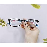 Gọng kính mắt oval nam nữ Sonata chính hãng chất liệu nhựa dẻo thanh mảnh siêu bền R539 thumbnail