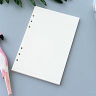 Tập giấy refill kẻ ngang 6 lỗ cỡ A5 - 210x142mm thumbnail