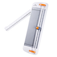 JIELISI A4 Paper Trimmer Desktop Paper Machine 12.2 Inch Cutting Length for Craft Paper Card Photo Laminated Paper thumbnail