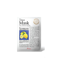 Mặt nạ 7 ngày Tinh Chất Chanh Ariul 7days Mask 20ml thumbnail