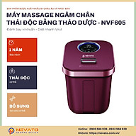 Bồn Massage Chân Hồng Ngoại Con Lăn Tự Động NVF605. thumbnail