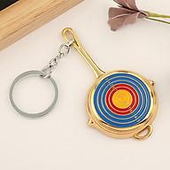 Móc khóa mô hình trong game PUBG - chảo target vàng thumbnail