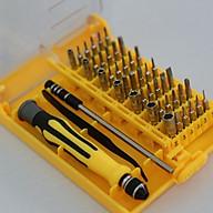 Bộ dụng cụ sửa chữa 45 món + Tặng kèm 3 kẹp chống rối dây điện thumbnail