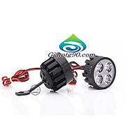 Đèn Led trợ sáng xe máy gắn chân gương 206401 (2 đèn) + Tặng 1 Đèn Led Gắn van xe . thumbnail