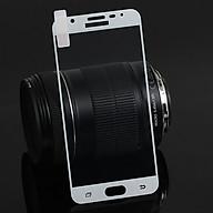 Dán kính cường lực full màn hình dành cho SamSung Galaxy J7 Prime phủ màu thumbnail