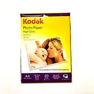 Giấy In Ảnh Chính hãng KODAK - Siêu Mịn Siêu Bóng- 230gsm - High Glossy thumbnail