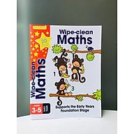 Gold Stars Wipe Clean Workbook Maths - Bài Tập Toán cho trẻ thumbnail