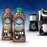 Bộ dung dịch làm sạch máy pha cà phê Bar Keepers Friend Coffee Maker Cleanser và Descaler nhập khẩu USA chính hãng thumbnail