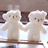 Móc khóa gấu bông treo balo siêu dễ thương LUKAMO MK thumbnail