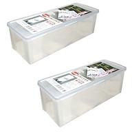 Combo 2 hộp đựng đũa thìa cất gọn nội địa Nhật Bản thumbnail
