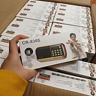 Đài Cr836s có sạc, thẻ nhớ 8g, 16g. PMAV11 thumbnail