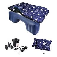 Giường đệm, nệm hơi thông minh Kèm bơm điện, vòi đa năng sử dụng được trên xe_INS09 thumbnail