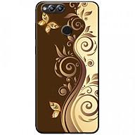 Ốp lưng dành cho Honor 7X mẫu Họa tiết bướm nâu thumbnail