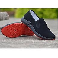 Giày Lười Vải Cao Cấp- Đen- Mã GL023 thumbnail