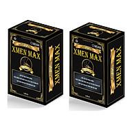 XMEN MAX - Cải thiện chức năng Sinh Lý Nam, Bồi bổ sức khỏe Nam giới, cải thiện tình trạng suy nhược cơ thể, sức đề kháng (2 hộp) thumbnail