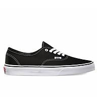 Giày Vans Authentic Black White - VN000EE3BLK thumbnail