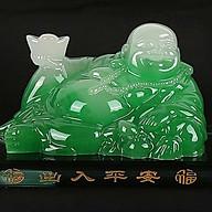 Tượng Phật Di Lặc Nước Hoa Để Xe Ô Tô (Màu Xanh) thumbnail