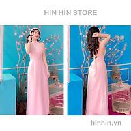 Set bộ áo dài yếm cách tân đính nút eo+mấn đính hạt HS115 - Hỉn Hỉn Store thumbnail