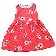 Đầm Bé Gái In Hoa CucKeo Kids T91830 - Đỏ thumbnail