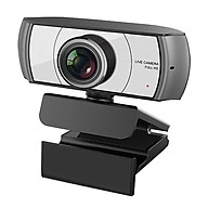 1080P HD Streaming Webcam USB Computer Video Camera 2 Megapixels 120 Wide Viewing Manual Focus with Microphone Plug & thumbnail